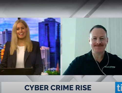 Lee Bailie talks to Ticker TV about Cybercrime